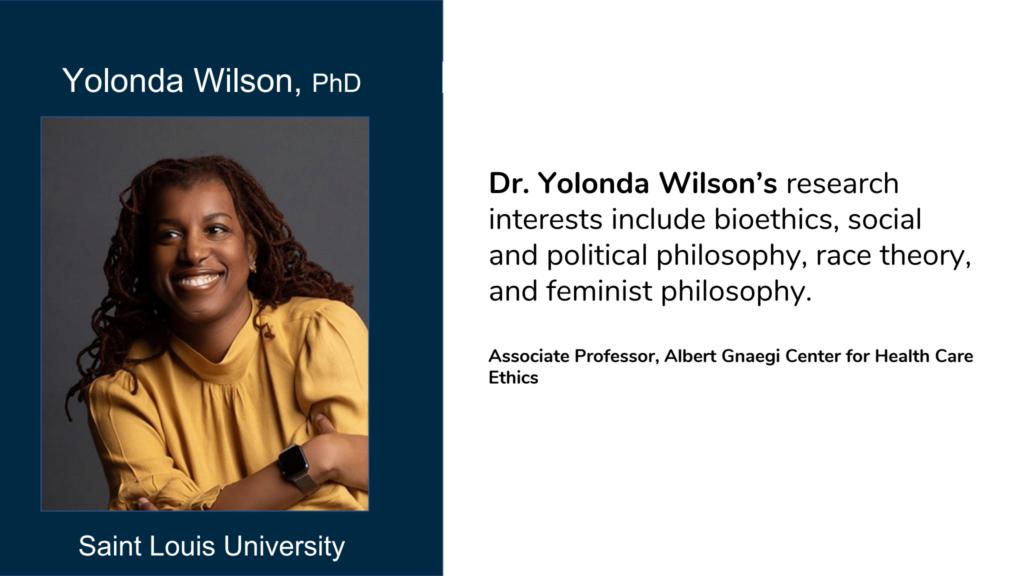 Yolonda Wilson
